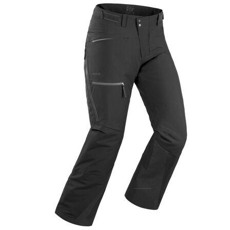 WEDZE - L Men's Freeride Ski Trousers Fr500 - Black