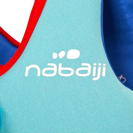 NABAIJI - Swim vest blue-red