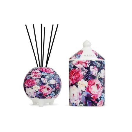MEWS COLLECTIVE - Mews Iris & Oud Mini Gift Set 100ml Diffuser And 100ml Candle