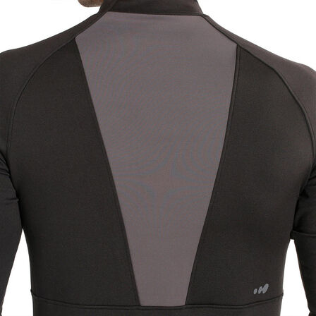 WED'ZE - Freshwarm men's ski underwear top - black
