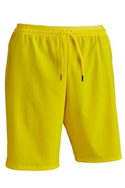 KIPSTA - F500 adult football shorts - yellow