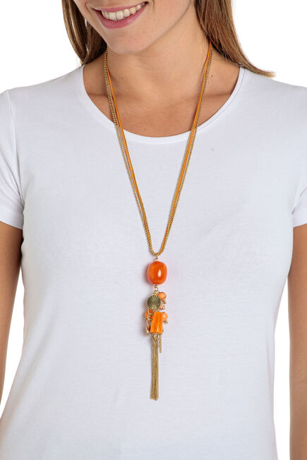 Punt Roma - Orange necklace
