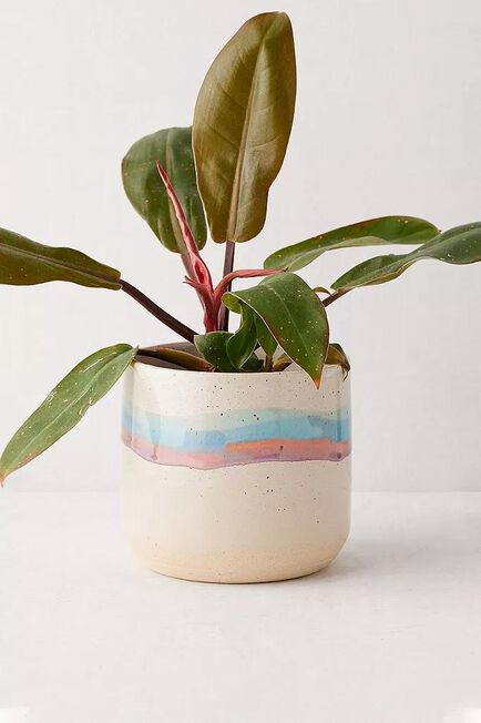 Urban Outfitters - ASSORT Soft Stripe Ceramic Planter