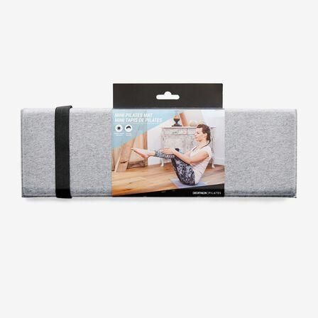 NYAMBA - 50 Cm X 39 Cm X 8 Mm Pilates Mini Floor Mat - Grey