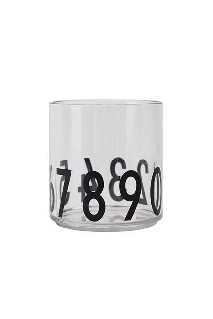 Design Letters - Kids personal drinking glass 123