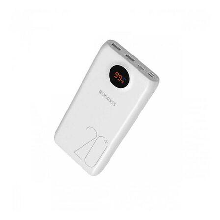 ROMOSS - Romoss SW20 Pro with QC3.0/USB C 20000mAh Power Bank White