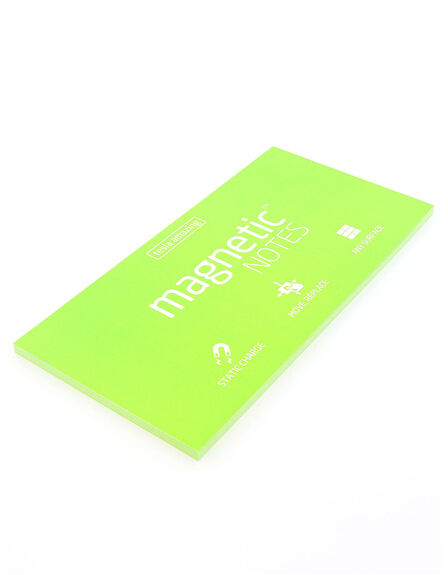 MAGNETIC STICKY NOTES - Magnetic Notes Green L