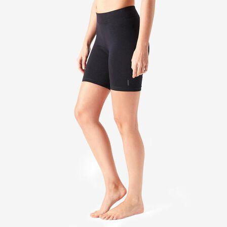 NYAMBA - 2XL  Cotton Fitness Cycling Shorts Fit+ - Black, Black