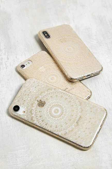 Urban Outfitters - Assorted Gold Geo Print IPhone 6/6S/7/8 Case
