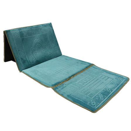 SUNDUS - Sundus Most Useful Foldable Prayer Mat Turquoise Blue