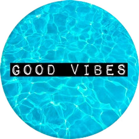 PopSockets - Popsockets Good Vibes Stand & Grip for Smartphones