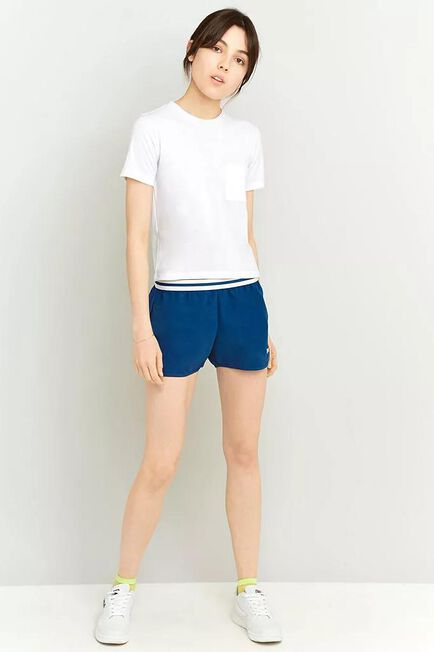 Urban Outfitters - White Fila Elastic Waist Dolphin Shorts, Women