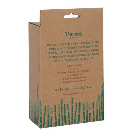 SOMETHING DIFFERENT - Something Different Sidney Sloth Bamboo Lunch Box