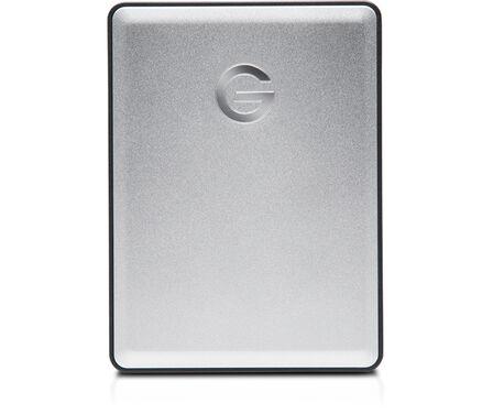 G-TECHNOLOGY - G-Technology G-DRIVE Mobile 4TB USB 3.0 Silver External Hard Drive