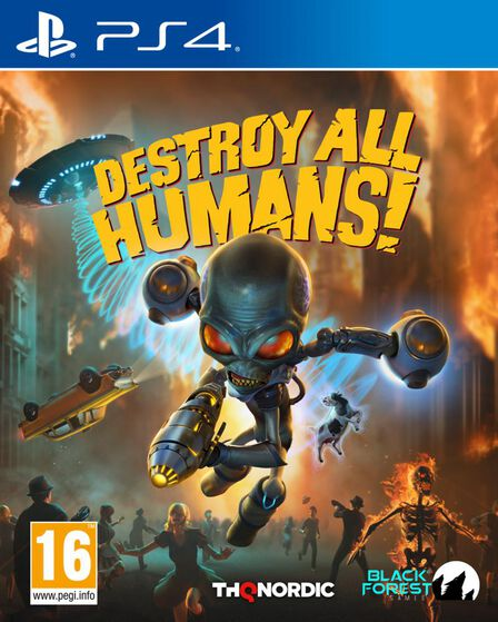 THQ - Destroy All Humans - PS4