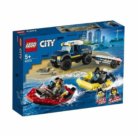 LEGO - LEGO City Police Elite Police Boat Transport 60272