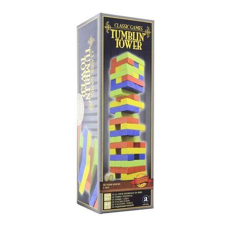 MERCHANT AMBASSADOR - Merchant Ambassador Classic Wood Tumblin' Tower Coloured