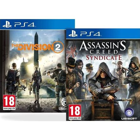 ASSORTED GAMES/BUNDLES - Assassin's Creed Syndicate + Division 2 [Bundle] - PS4