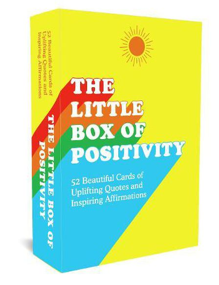SUMMERSDALE PUBLISHERS - The Little Box Of Positivity 52 Beautiful Cards Of Uplifting Quotes And Inspiring Affirmations