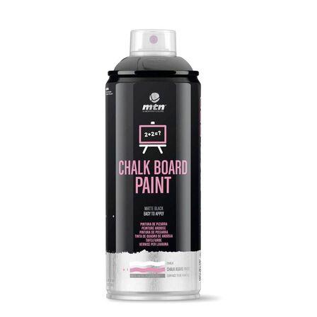 MONTANA COLORS SL - Montana Colors Pro Paint Chalkboard Spary Paint 400 ml Black
