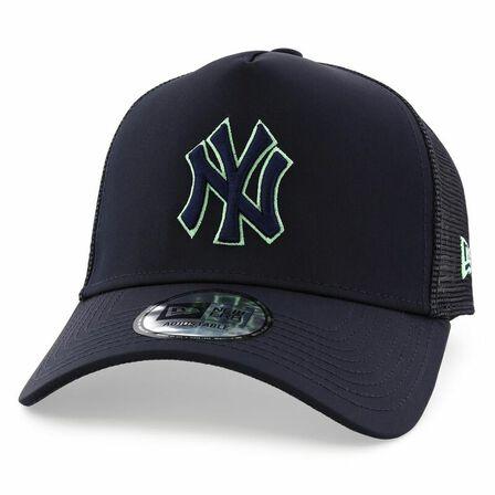 NEW ERA - New Era Nylon Front Mlb Af Ny Yankees Men's Trucker Cap Navy