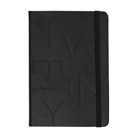 KIKKI.K - kikki.K 2020 A5 Bonded Leather Weekly Diary Jet Black