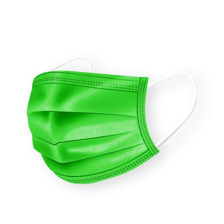 MEDIPOP - Medipop Disposable Face Masks for Kids Green [Pack of 5]
