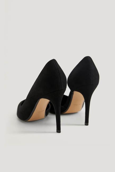 Mango - Black Asymmetric stiletto shoes