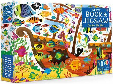 USBORNE PUBLISHING LTD UK - Usborne Jigsaw Under the Sea
