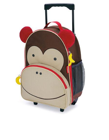 SKIP HOP - Skip Hop Zoo Kids Rolling Luggage Monkey