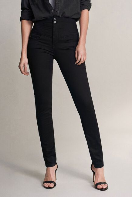 Salsa Jeans - Black Diva slim fit slimming true black jeans