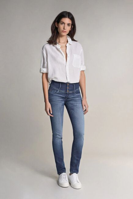 Salsa Jeans - Blue Mystery push up premium wash jeans