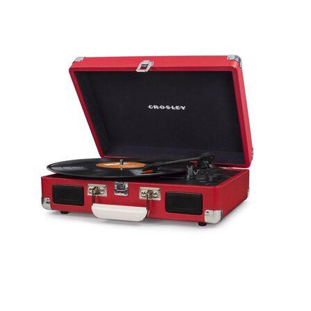 CROSLEY - Crosley Cruiser Red Deluxe Portable Turntable