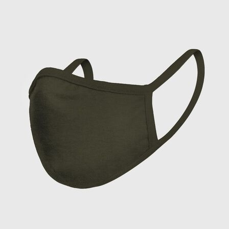 MISTER TEE - Mister Tee Cotton Face Mask Olive