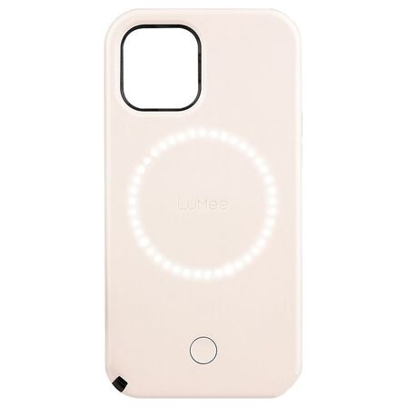 LUMEE - Lumee Duo Millennial Pink for iPhone 12 Pro/12