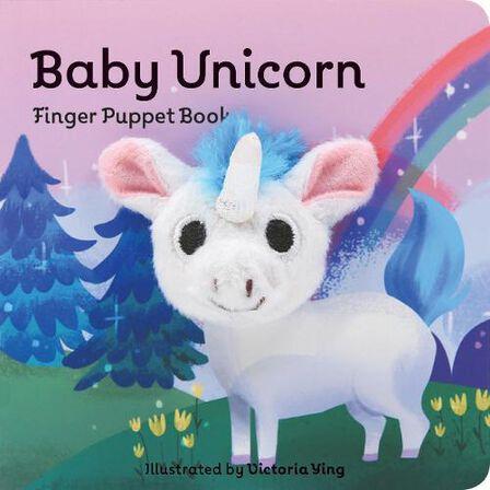CHRONICLE BOOKS LLC USA - Baby Unicorn Finger Puppet Book