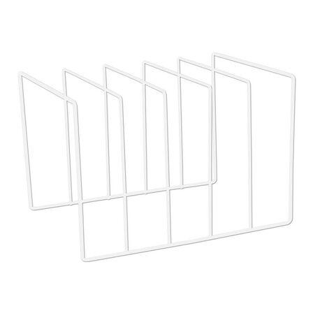 MJI - MJI R25 Vinyl Record Holder White