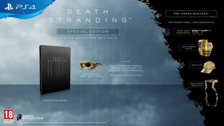 SONY COMPUTER ENTERTAINMENT EUROPE - Death Stranding - Special Edition - PS4