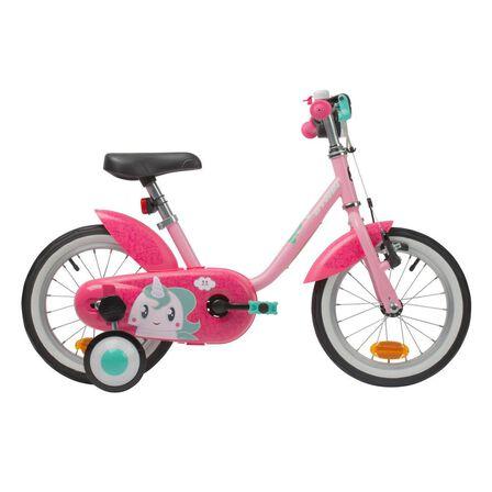 BTWIN - 500 kids' 14-inch bike (3-4.5 years) - unicorn, Unique Size