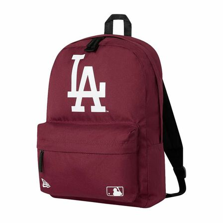 NEW ERA - New Era mlB Stadium Pack La Dodgers Backpack Dark Red