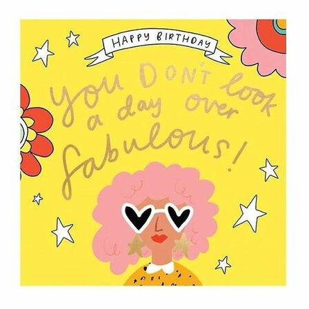 PIGMENT PRODUCTIONS - The Happy News A Day Over Fabulous Heart Sunglasses Greeting Card 160X156