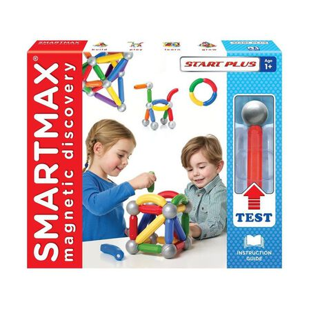 SMART MAX - Smartmax Build Start With Try Me Magnetic Building Set [30 Pcs]