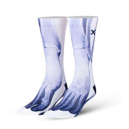ODD SOX - Odd Sox X-Ray Feet Men's Socks [Size 6-13]