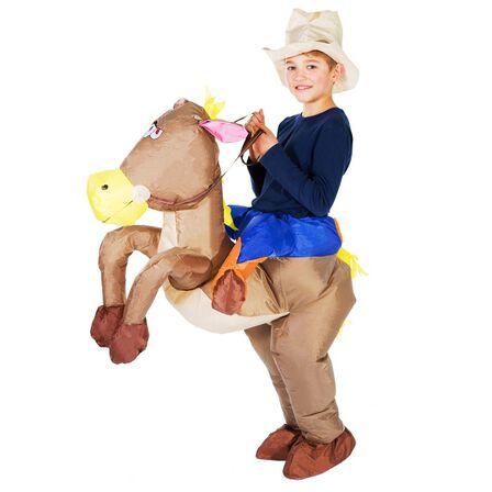 BODYSOCKS - Bodysocks Inflatable Cowboy Costume for Kids