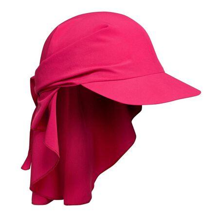 FORCLAZ - Unique Size  Mountain Trekking Cap - TREK 100 Ultra-compact, Cardinal Pink