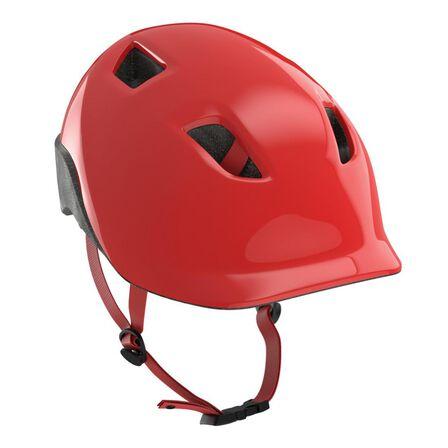 BTWIN - XS/48-52cm  500 Kids' Cycling Helmet - Neon, Bright Red