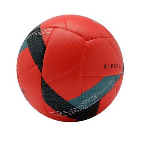 KIPSTA - 5  Hybrid Size 5 Football F550, Fluo Peach