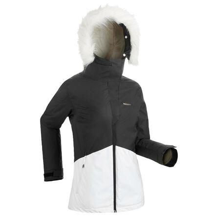 WEDZE - M Women's Downhill Ski Jacket 180 - Black