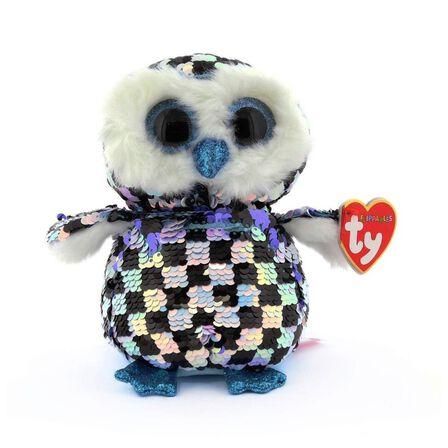 TY - Beanie Boos Flippable Topper the Owl Plush