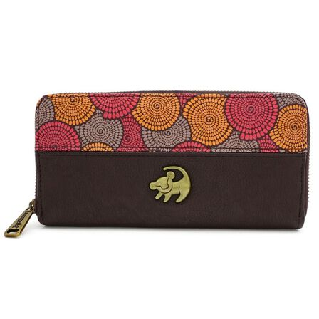 LOUNGEFLY - Loungefly Lion King Zip Around Wallet